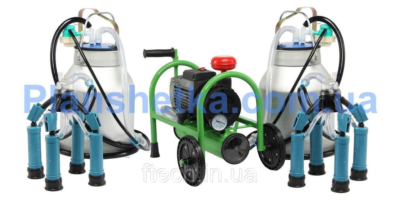 Доильный аппарат для коров Буренка-2 Стандарт 1500