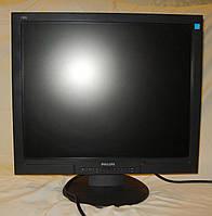 """Монитор 19"""" Philips Brilliance 190S1SB S-Line DVI Black"""