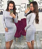Платье женское из выданного трикотажа