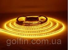 Светодиодная лента SMD2835 120 д/м, IP33 Gold Yellow (WW) 5м