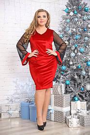 Женское платье Праздничный микс / размер 48-72 большие размеры