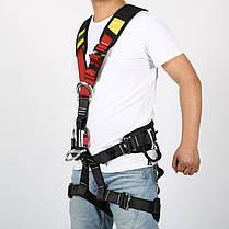 Безопасность восхождение плечевой ремень держатель ремень альпинизмом вниз по склону спасательного Rock Xinda на открытом воздухе, фото 3
