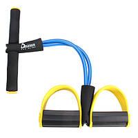 Многофункциональный брюшной сопротивление полосы elasicity тренажеры расширитель педали упражнения устройства