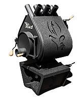 Отопительная конвекционная печь Rud Pyrotron Кантри 00 c декоративной обшивкой (черная, коричневая, бордовая)
