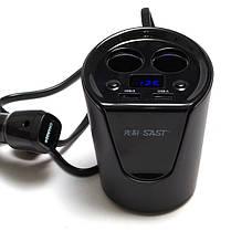 SAST Universal 3.1A USB Авто Зарядное устройство Автонапряжение Монитор & Сигарета для iPad Смартфон, фото 2