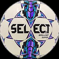 Футбольный мяч Select Brillant Super Бел./Фиолет./Син.
