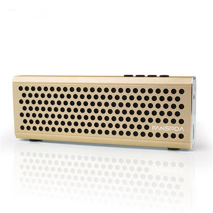 FANSPDA L100 Ultra Slim 1500mAh Stereo Металл Беспроводная связь Bluetooth FM Вызов двойной сабвуфер AUX, фото 2