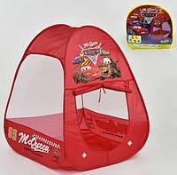 Детская игровая палатка 333-48 Тачки (Cars 2) в сумке