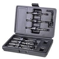 7 штук HSS 3.18mm-5.56 зенковка Сверло деревообрабатывающий инструмент