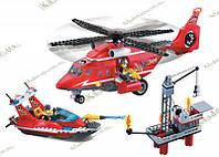 Brick 905 Морська пожежна служба 404 елемента, фото 1