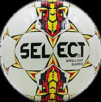 Футбольный мяч Select Brillant Super Бел./Жел./Крас.