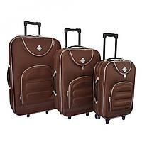 Набор чемоданов Bonro Lux coffee