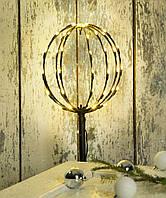 Украшение новогодне  д.25 в.100см светильник новогодний