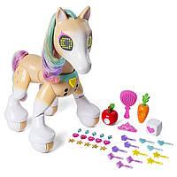 "Интерактивная пони, лошадка зумер ""Модница"", Zoomer Fashion Show Pony, Spin Master из США, фото 1"