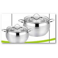 Набор посуды нержавеющая сталь Lessner 55857