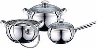 Набор посуды коррозинностойкая сталь Lessner 55859