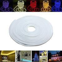 15m 2835 LED гибкий неон веревки полосы света Xmas Открытый водонепроницаемый 220v
