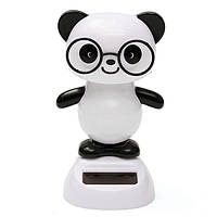 Солнечные очки панда флип лоскут качается покачал головой куклы