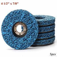 5 штук 110мм polycarbide абразивной зачистки диска колеса ржавчины и удаление краски абразивный диск