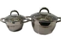 Набор посуды нержавеющая сталь Lessner 55860