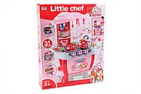 Игровой набор «Детская кухня с посудой» (звук, свет) 008-801