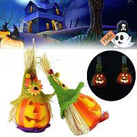 Хэллоуин тыква мило чучело LED свет партия дом с привидениями декор