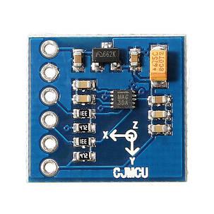 MAG3110 3-х осевой цифровой магнитного поля Земли датчик геомагнитное интерфейсный модуль I²C для Arduino, фото 2