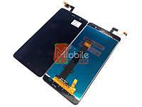 Модуль для Xiaomi Redmi Note 3 Pro SE 149 мм (Дисплей + тачскрин), черный оригинал PRC