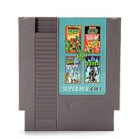 4 в 1 8 бит 72 контактный патрон игры Teenage Mutant Ninja Turtles для NES Нинтендо