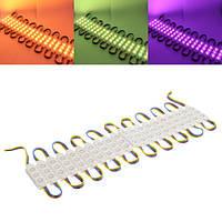 20 штук SMD5050 RGB 60 LED модуль полосы света водонепроницаемый бар лампа для вывесок витрины окон DC12V