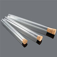 10 штук Lab Glass Test Трубка С пробковым пробником 20 мл/35 мл/50 мл