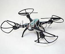 Радиоуправляемый квадрокоптер 2,4 gz Led 4 винта drone X-1507 черный, фото 3