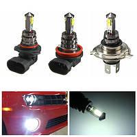 9006 / HB4 9005 / НВ3 H16 вождения колбы лампы белый H4 H7 H11 10w 6000k LED противотуманная фара