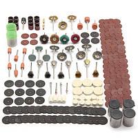 Набор аксессуаров 340pcs роторный инструмент подходит для dremel шлифования шлифовальный шлифовальный инструмент