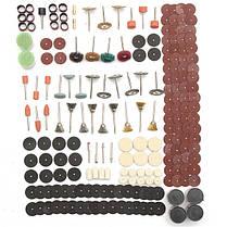 Набор аксессуаров 340 штук роторный инструмент подходит для dremel шлифования шлифовальный шлифовальный инструмент, фото 2