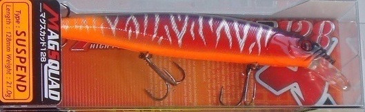 Воблер Jackall Mag Squad 128SP цвет  TH Hot Orange