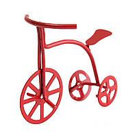 1/12 Шкала Red Bicycle Dollhouse DIY Миниатюрные аксессуары для мебели для кукольных домиков