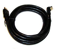 Шнур HDMI-HDMI v1.4 Угловой (3m)