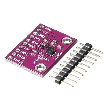 LSM6DS33TR 3-осевой акселерометр+3-осевой гироскоп 6-осевой модуль инерционный датчик 6DOF для Arduino, фото 2