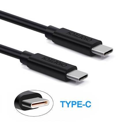 CHOETECH самец 2 м/кабель дата 6.6ft зарядки Type-C 2.4a USB 3.1 Type-C мужчины к, фото 2
