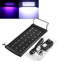 Коснуться аквариума крышка LED свет аквариума водные растения лампа 100-240 морской аквариум освещение