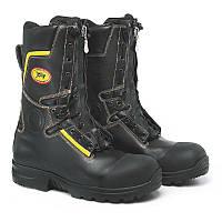 УЦЕНКАОгнестойкие кожаные пожарные ботинки (берцы) Jolly 9081/G Crosstech Fire Boot. Великобритания, оригинал.
