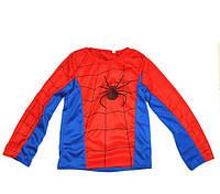 Детский маскарадный костюм для мальчика Спайдермен синий М