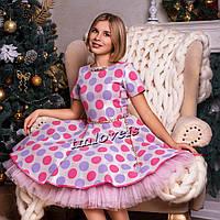 Нарядное подростковое платье Флюид