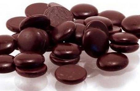 Глазур чорна кондитерська в дисках по 1 кг, 5 кг, 15 кг в упаковці, фото 2