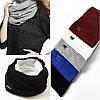 Беспроводная связь Bluetooth наушники шарф зимой на открытом воздухе музыка беспроводной теплый шарф шейный платок с микрофоном