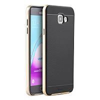 Чехол Ipaky для Samsung A7 2016 A710 A710H бампер оригинальный gold