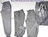 Штани жіночі утеплені трикотаж-начіс, фото 2