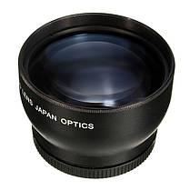 58мм 2x увеличение телеобъектив для Canon DSLR камеры Pentax Nikon ЭОС, фото 3