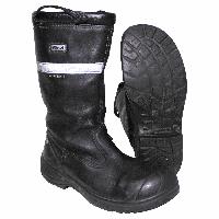 Огнестойкие кожаные пожарные сапоги Sievi firefighter Gore-tex boots. Великобритания, оригинал.